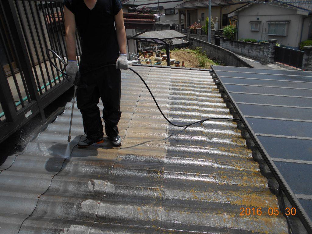 屋根工事前2