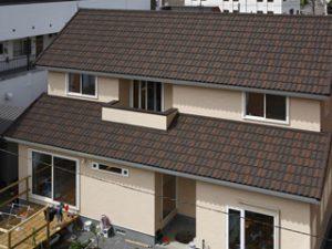 ストーンチップ屋根